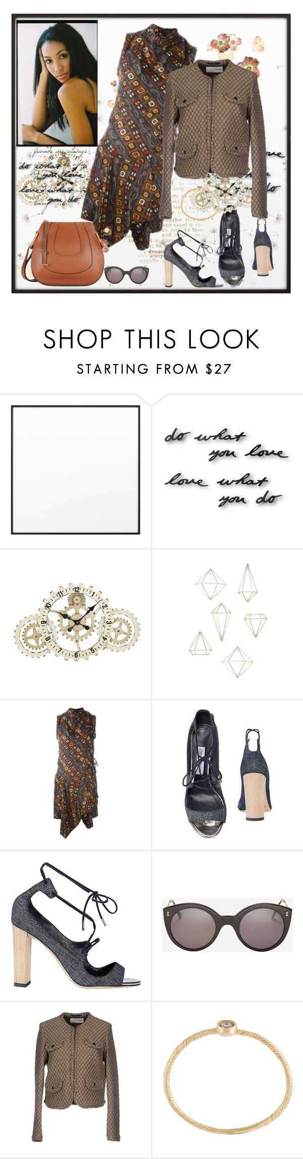"""""""Do What You Love"""" by diane-fritz-sager ❤ liked on Polyvore featuring By Lassen, WALL, Dot & Bo, Isabel Marant, Jimmy Choo, Illesteva, Mauro Grifoni, Wouters & Hendrix Gold and Chloé"""
