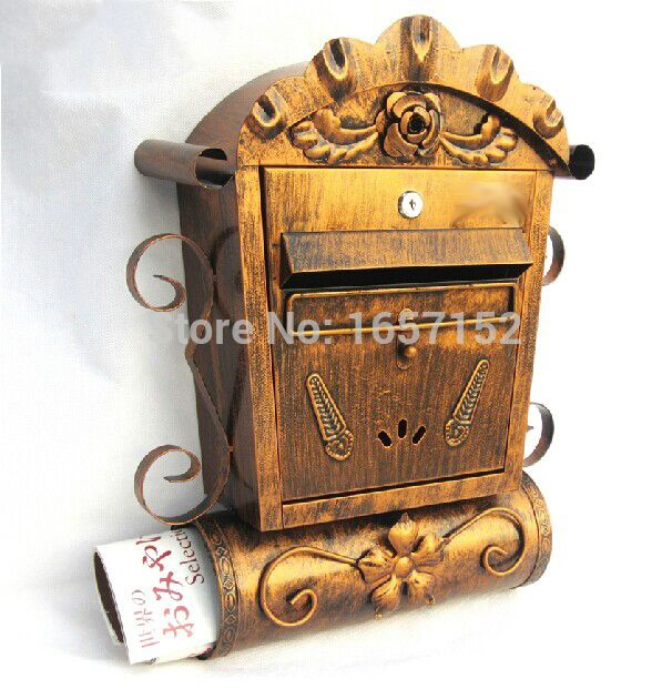 Popular Antique Mailbox-Buy Cheap Antique Mailbox lots from China ...