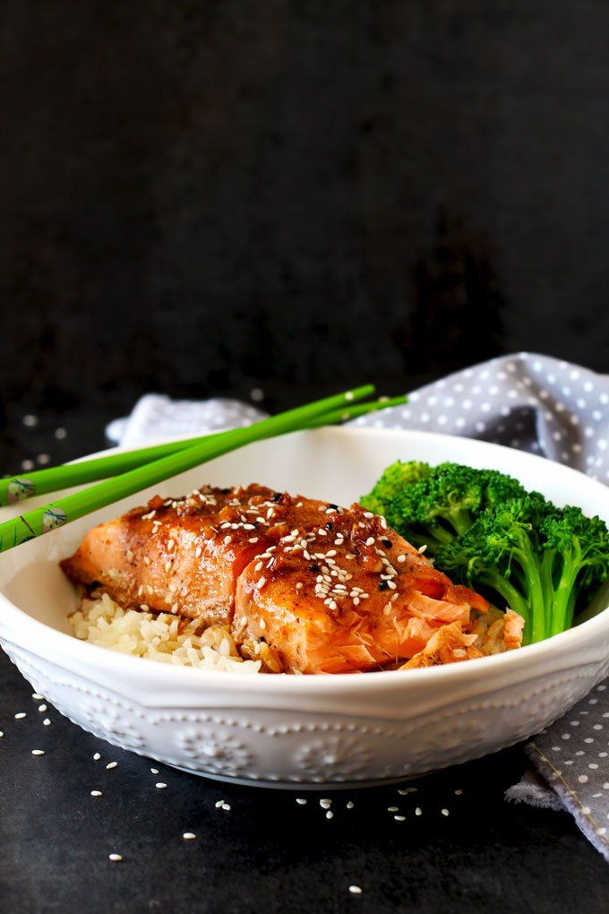 This Asian Inspired Honey Ginger Salmon Is Not Only -6216