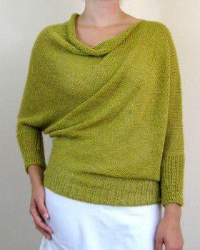 Belle Pullover Pattern * Julie Weisenberger