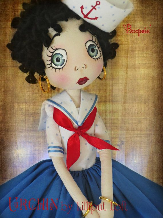 Art Doll OOAK Urchin Boopsie by Lilliput Loft