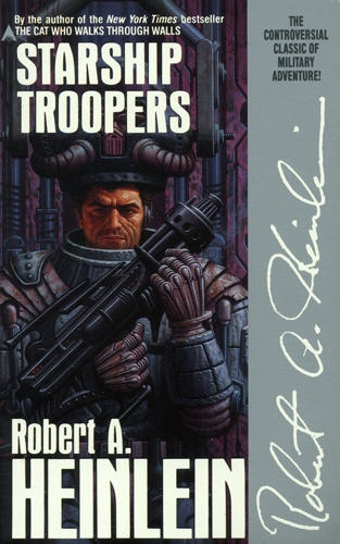 Starship Troopers. Another top 5 book for me. I read it while my fiance/husband was deployed.