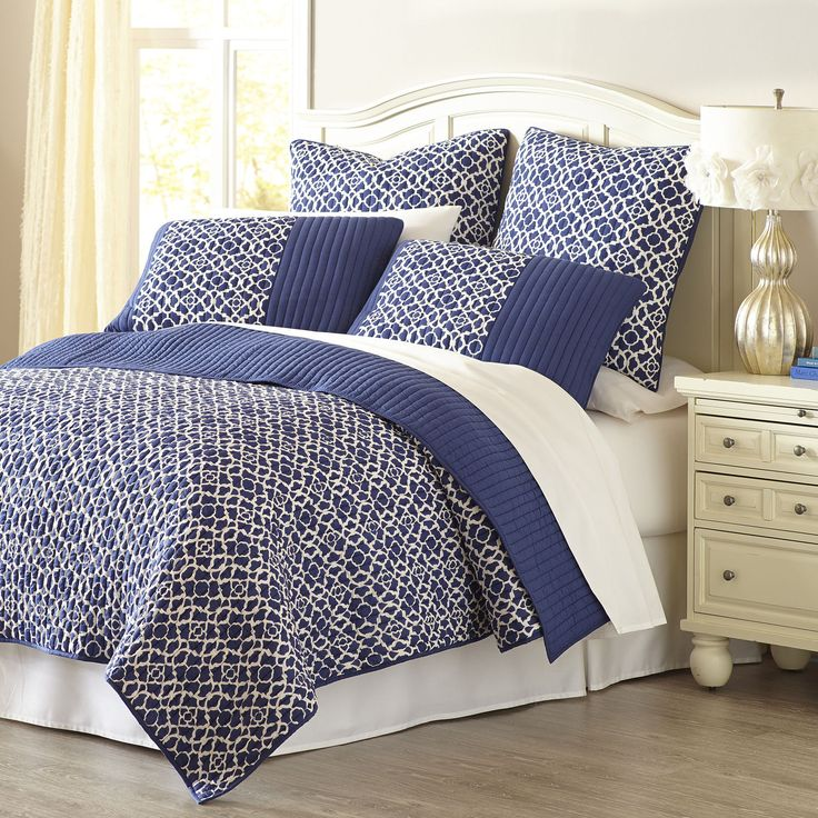 Pier One   Reece Reversible Bedding   Quilt   Indigo. 54 best Bedding ideas images on Pinterest   Bedroom ideas  Bedroom