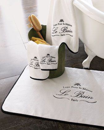 "Kassatex ""Le Bain"" Towels"