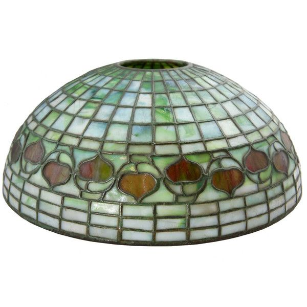 83 best american art glass lamp shades images on pinterest american tiffany studios green shade leaded glass acorn lamp shade aloadofball