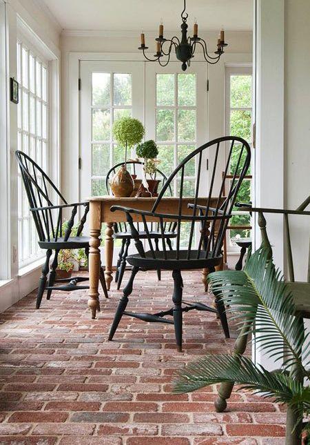 Dreamy Brick Floors | House & Home