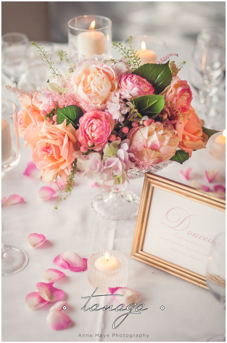 17 best images about d cors de table wedding for Deco romantique