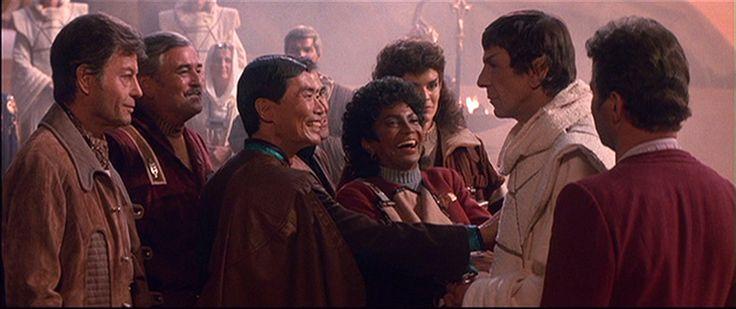 The Search for Spock - Leonard Nimoy ...Spock - William Shatner ...Kirk -   DeForest Kelley ...McCoy -   James Doohan ...Scotty -   Walter Koenig ...Chekov -   George Takei ...Sulu -  Nichelle Nichols ...Uhura -   Robin Curtis ...Saavik