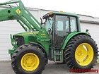 John Deere 6420 Diesel Tractor 4 X 4 With Cab & Loader