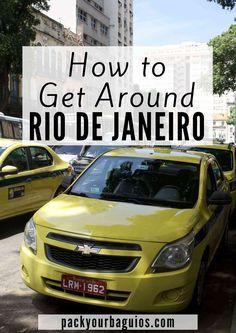 Rio de Janeiro travel | Rio de Janeiro public transportation | How to get around Rio de Janeiro | Rio de Janeiro taxi | Rio de Janeiro metro | Rio de Janeiro Buses