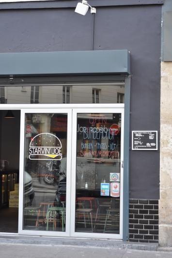 Starvin Joe, burger restaurant and take-away, 42 rue de Charonne 75011 Paris