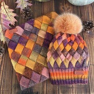 Лукошко спицами - пуловеры в технике Entrelac