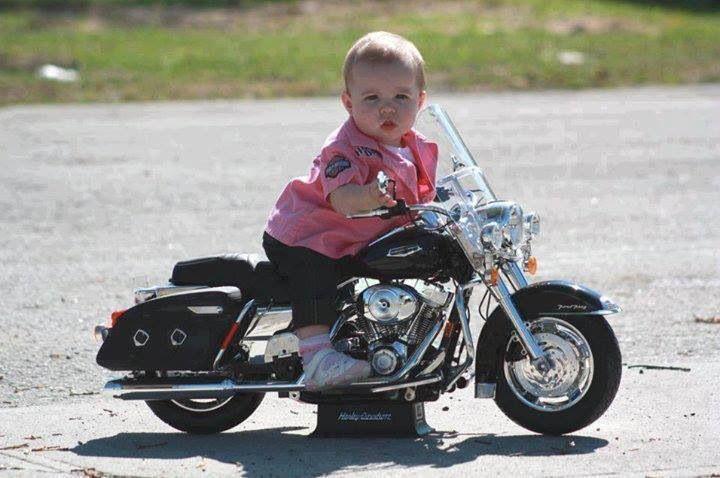 Biker Baby! Very cute