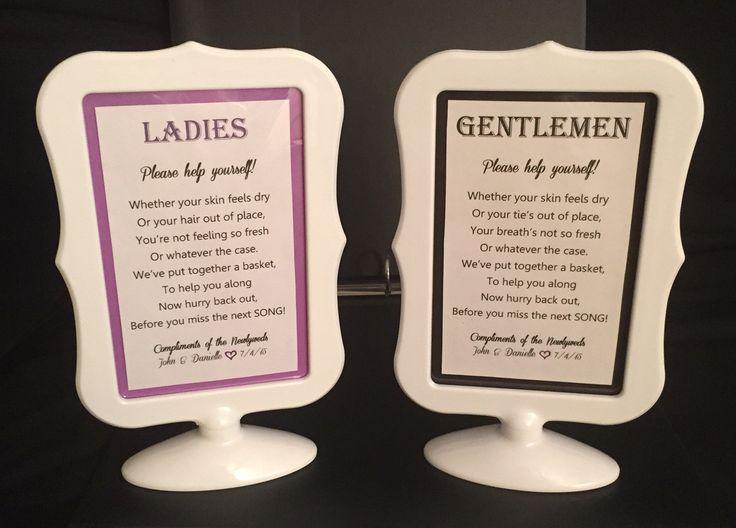 Bathroom Signs Next top 25+ best wedding bathroom signs ideas on pinterest | wedding