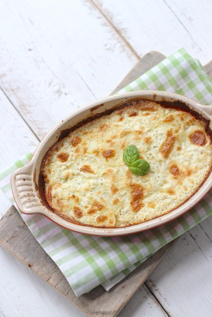 Romige ovenschotel met vis en aardappel