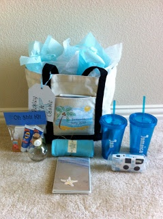 Connoisseur of Creativity: DIY Destination Wedding Welcome Bags