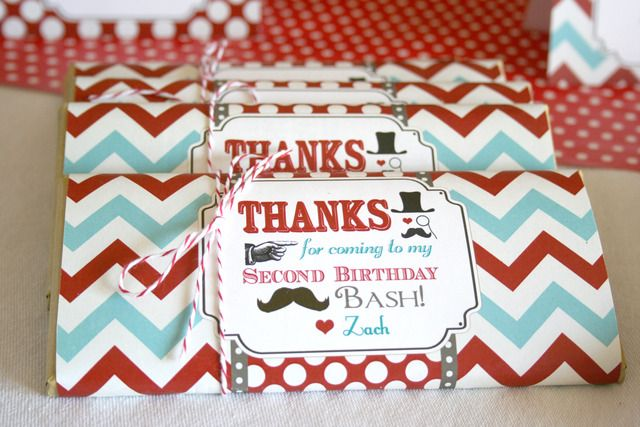 """Candy Bar Covers - Little Man Mustache Bash""""   Catch My Party"""
