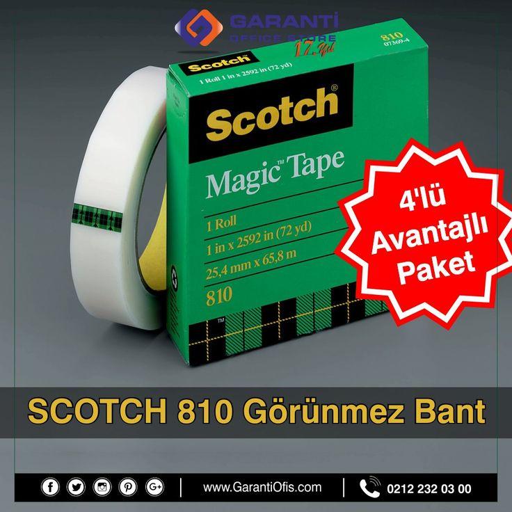 Scotch 810 görünmez bantlarda dev fırsat, süper fiyattan faydalanmak için GarantiOfis.com'u ziyaret edin!   #scotch #scotchmagic #gorünmezbant #bant #masaustugerecleri #ofismalzemeleri #garantiofis