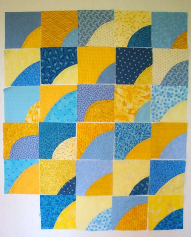 Learn How Easy it Is to Sew a Freehand Drunkard's Path Quilt: How to Sew an Easy Drunkard's Path Quilt
