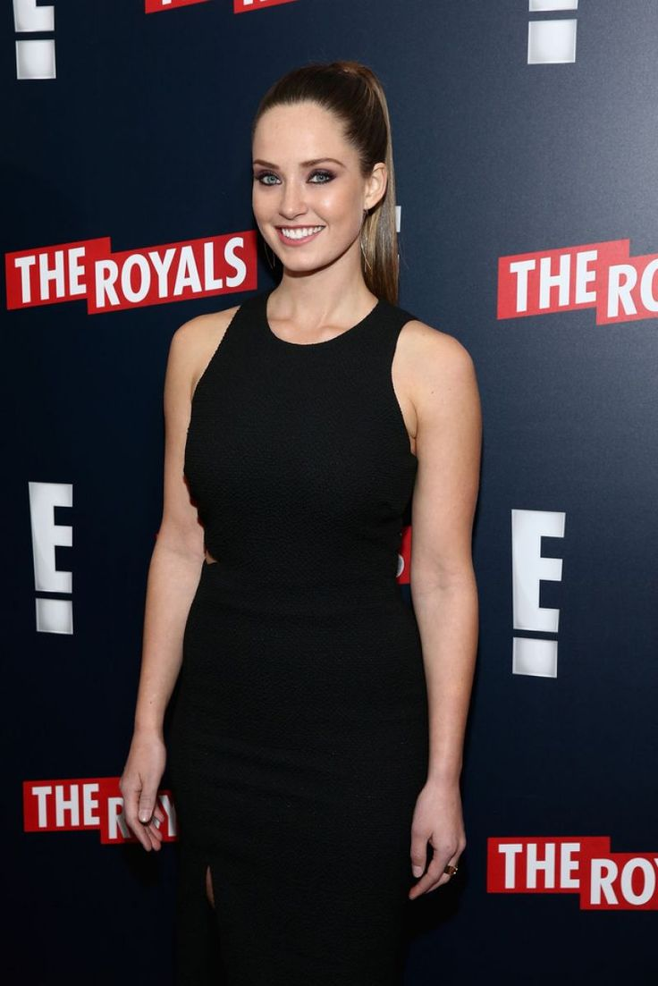 MERRITT PATTERSON at The Royals Premere in New York.