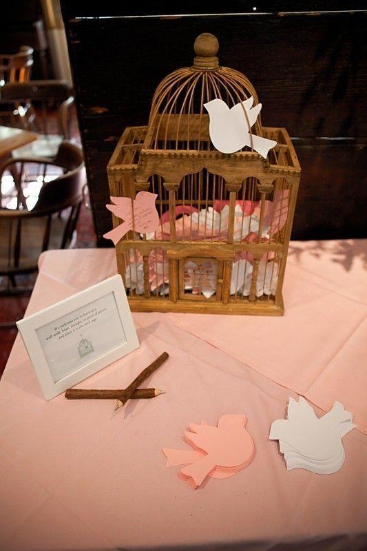 Love Bird Place Cards, Wedding Birds, Escort Cards, Paper Bird Cut Outs, Blank. $17.50, via Etsy.
