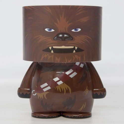 Official Star Wars Chewbacca Look-Alite LED Character Mood Light | Chewie Lamp