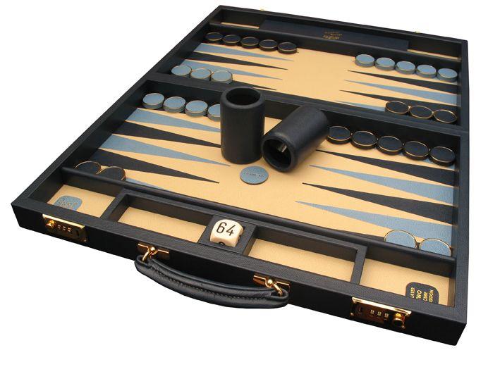 Another gilt contemporary backgammon, handmade in the UK #Bespoke #Backgammon #Handmade #Attaché #Contemporary