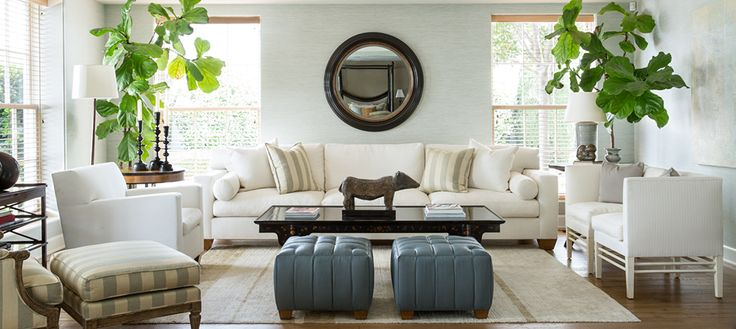 Classic California Style By Rose Tarlow   LA based designer Rose Tarlow's aesthetic is synonymous with beauty, comfort, artisan quality craftsmanship and old-world sophistication.  #losangeleshomes #LAmansions #InteriorDesignIdeas