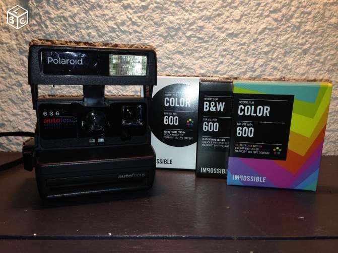 Polaroid 600 + boite de film / pellicule Image & Son Puy-de-Dôme - leboncoin.fr