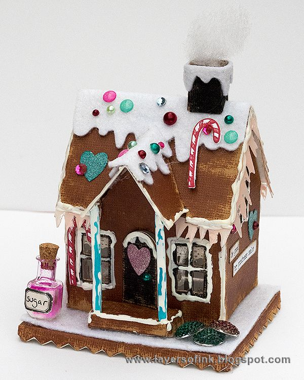 Layers Of Ink Make Your Own Paper Gingerbread House By