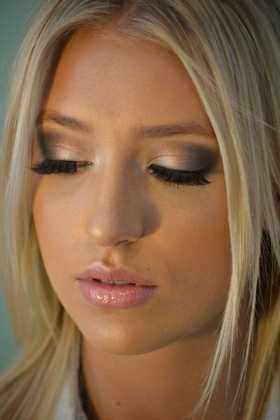 Neutral Wedding Makeup : Soft, neural eye makeup. . .so pretty!!! #makeup #beauty # ...