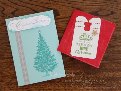 Stampin' Up! Holiday Catalogue  creativeJax Christmas Open House 2013 Make and takes
