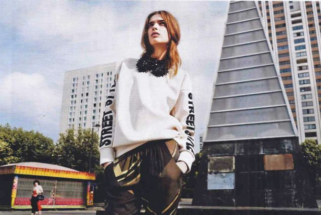 Marie Claire Magazine/ Septembre 2014 - Sweat SREET