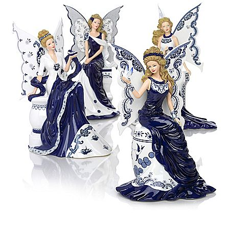 Figurines: Magic Of Blue Willow Figurine Collection