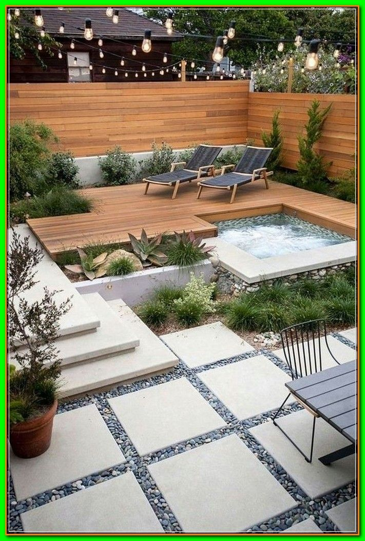 Lawn Free Landscaping Ideas Landscape Architect Creates The Ultimate Low Maintenance Yard In 2020 Small Backyard Landscaping Backyard Modern Landscape Design