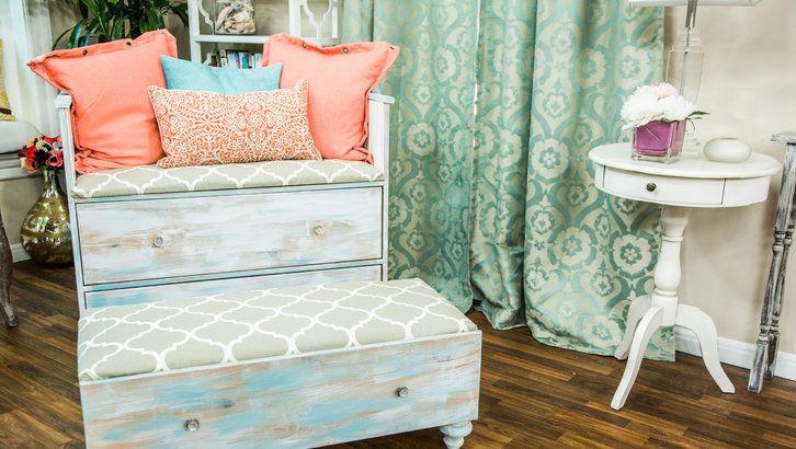DIY Refurbished Dresser Chair Set (Part 2) 4/25