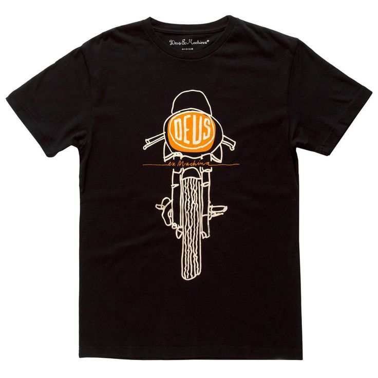 DEUS EX MACHINA FRONTAL MATCHLESS T-SHIRT | lalalandstore.com