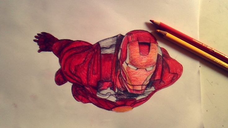 Iron man film dessins Passion Of Drawing achamagne