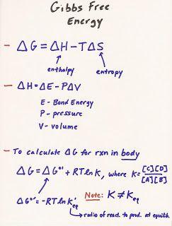 MCAT+study   MCAT Study Blog: BIO Lecture 1: Thermodynamics