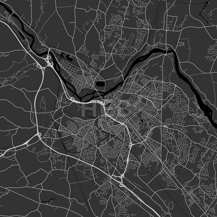 Schenectady downtown and surroundings Map in dark version with many details for high zoom levels. This map of Schenectady contains typical landmarks w... ... #map #download #citymap #areamap #usa #background #clean #city #area #modern #landmarks #ui #ux #hebstreit