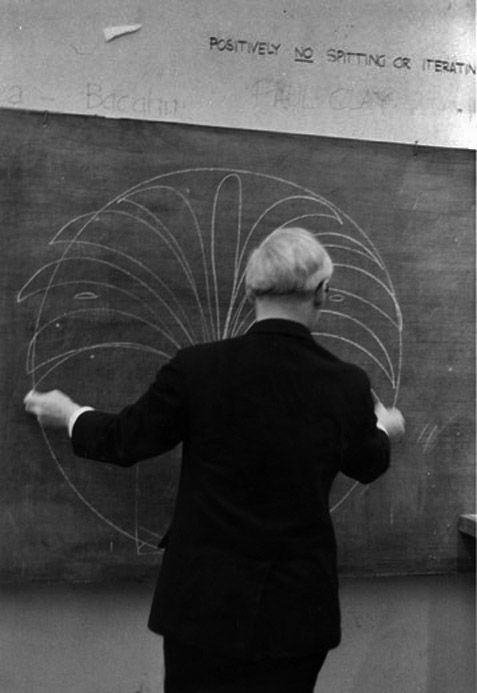 Louis I. Kahn by Martin Rich c.1971. The Architectural Archives, University of Pennsylvania - Philadelphia.