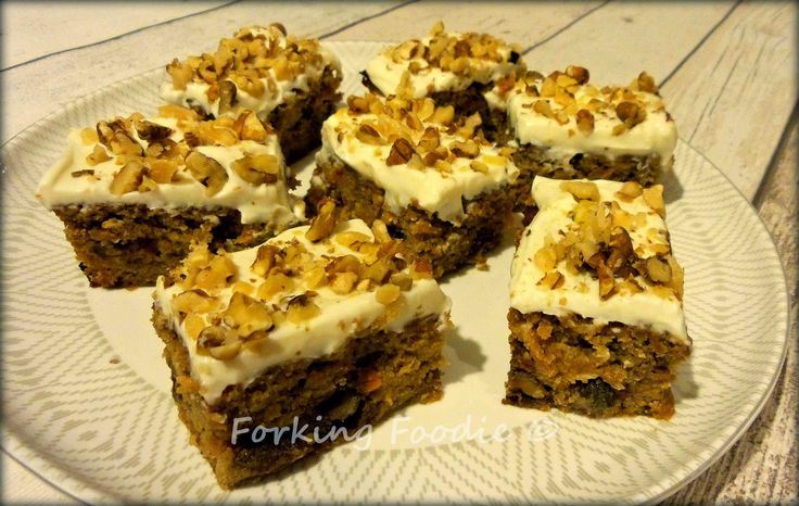 Spiced Carrot Cake - Magic Bean style! Makes 24 portions from 140 calories each. I feel like I'm not allowed to rave about it, because I made it up - but if you like carrot cake, and especially if you're gluten free, you absolutely have to try this!