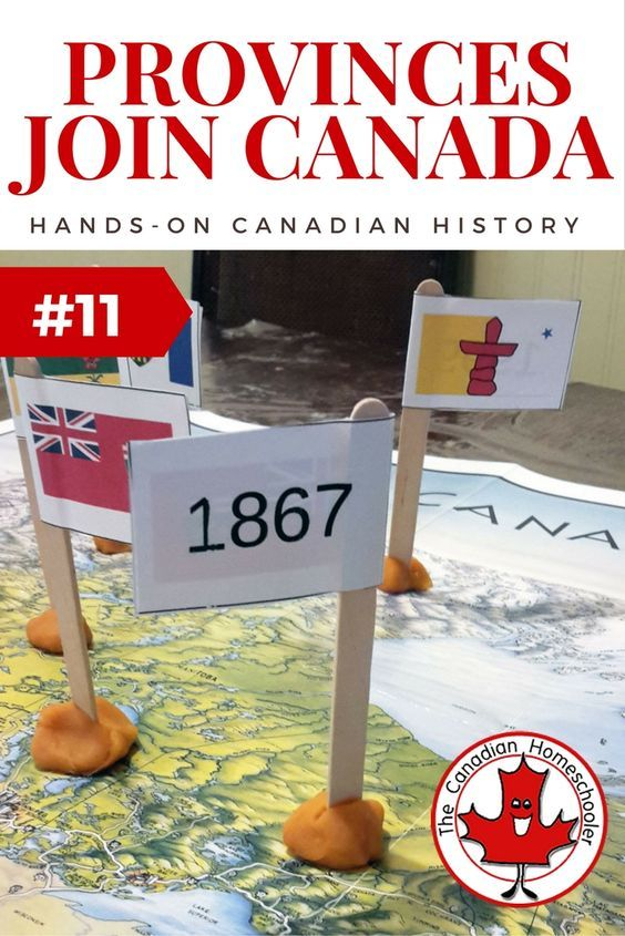 What Years The Provinces and Territories of Canada Joined Canada - an easy activity.