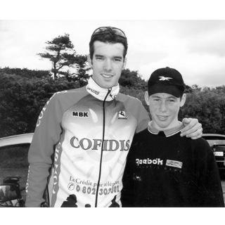 David Millar and young Cav