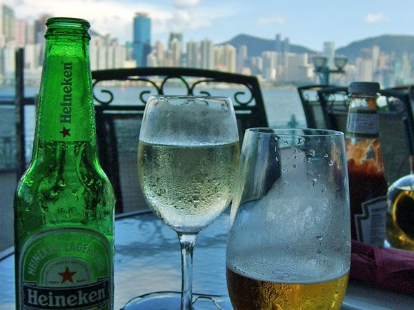 Heineken in #HongKong, lekker! #China #travelsmartnl