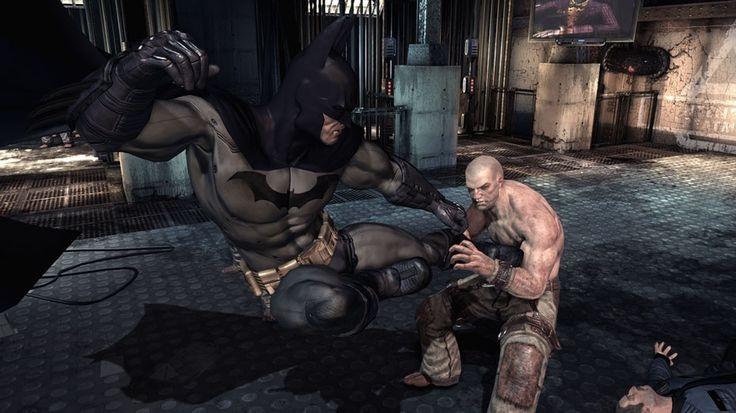 Bardzo realistyczna moja ulubiona gra to Batman. Jeżeli jeszcze w nią nie graliście to gorąco polecam http://gry-dlachlopcow.pl/gry-batman/