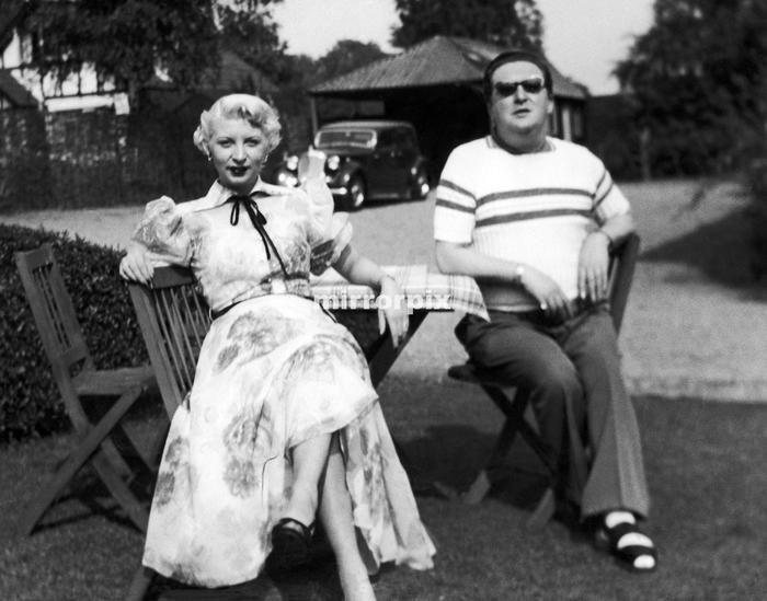 Ruth Ellis with her boss club owner Morris Conley Murderpedia, the encyclopedia of murderers