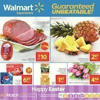 Walmart - Supercentre - Happy Easter Flyer