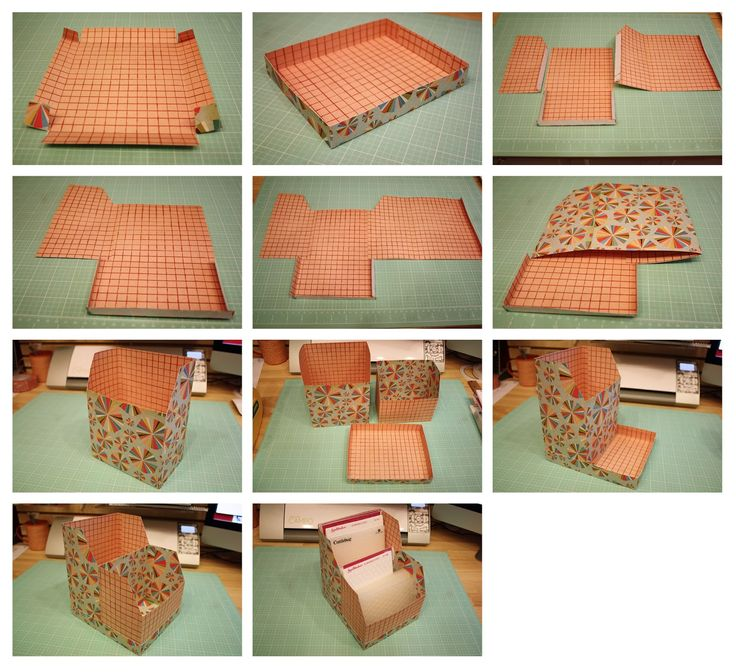 Bits of Paper: Embossing Folder Storage Box