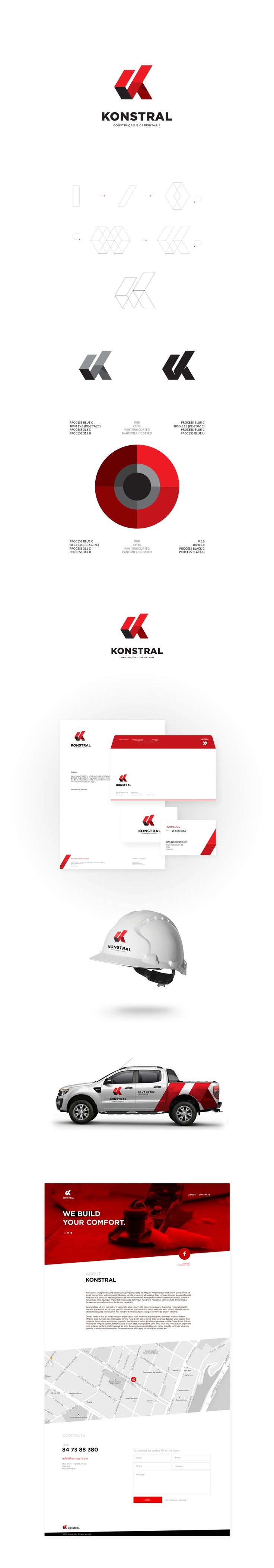Logo proposal for construction company